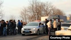 Жители села Насыр-Корт, пытавшиеся осуществить самозахват земельных участков, были остановлены полицейскими