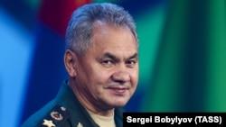 რუსეთის თავდაცვის მინისტრი სერგეი შოიგუ