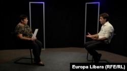Nicu Popescu, intervievat de Valentina Ursu