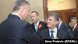 Milo Đukanović i Svetozar Marović, arhivska fotografija