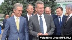 Iurie Leancă şi Guenther Oettinger