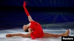 Russia's Yulia Lipnitskaya performs during the Figure Skating Gala Exhibition at the Sochi 2014 Winter Olympics.