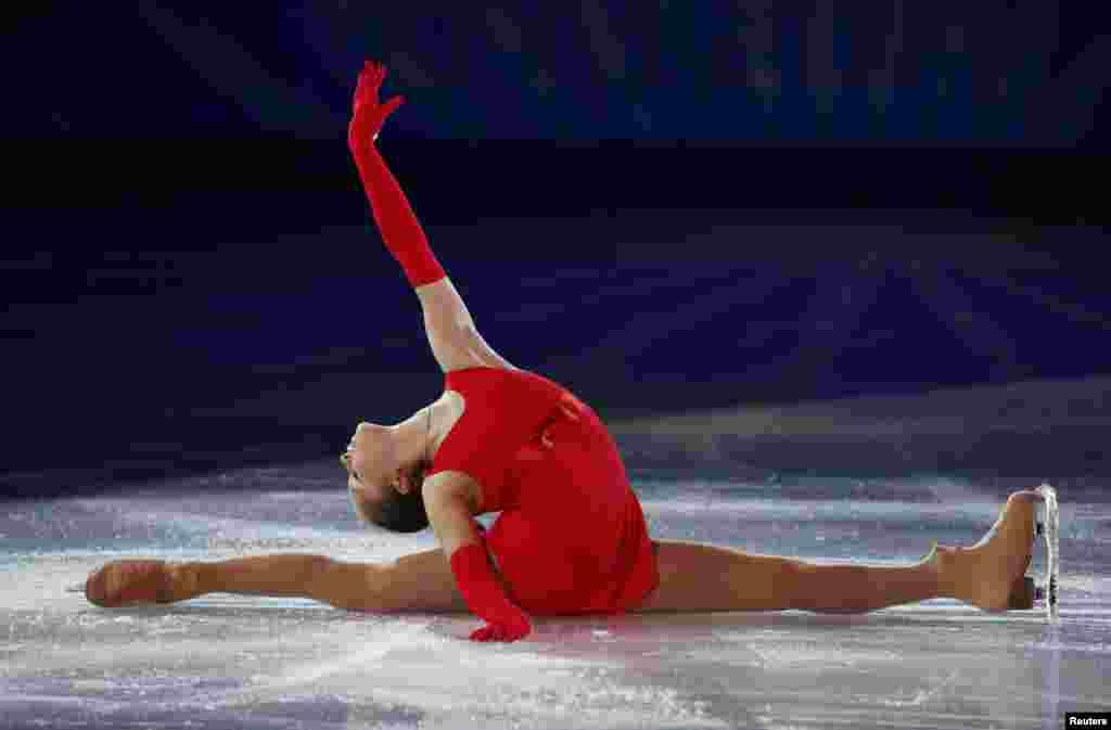 Феерический успех юной фигуристки из России Юлии Липницкой.