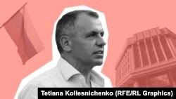 Спикер подконтрольного России парламента Крыма Владимир Константинов