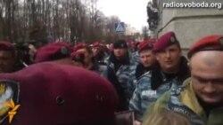 У Харкові сепаратисти захищали «Беркут» від масових звільнень, яких не було