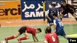 مسابقه فوتسال ایران و اسپانیا با نتیجه سه بر سه پایان یافت