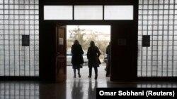 Nxënësit në një shkollë të udhëhequr nga organizata afgano-turke ACTE