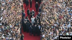Папа Римський Франциск у Вірменії, 25 червня 2016 року