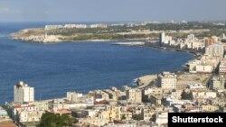 Pamje e kryeqytetit Havana në Kubë