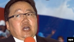 Президент Монголії Цахіагійн Елбегдорж