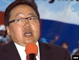 Mongolian President Tsakhia Elbegdorj