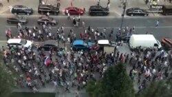Բողոքի ակցիաներ, բախումներ, ձերբակալություններ Ռուսաստանի քաղաքներում