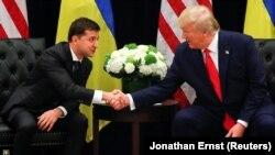 Зустріч Володимира Зеленського і Дональда Трампа у Нью-Йорку 25 вересня 2019 року
