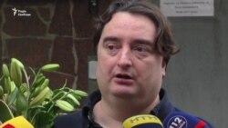 Гужва вийшов із Лук'янівського СІЗО (відео)