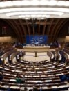 France – A general view of the hemicycle of Council of Europe is seen during a debate of the Parliamentary Assembly of the Council of Europe. Strasbourg, October 2, 2008