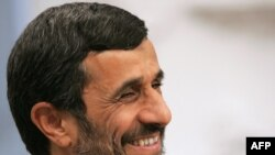 Re-elected President Mahmud Ahmadinejad, June 2009