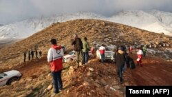 У лютому минулого року в районі гірського хребта Загрос в Ірані теж розбився літак з 66 людьми на борту
