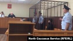 Кемал Тамбиев на суде, 16 июня