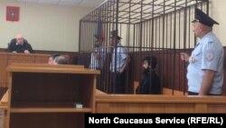 Кемал Тамбиев на судебном заседании