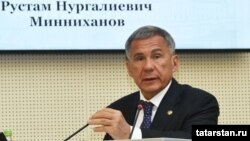 Татарстан президенты Рөстәм Миңнеханов
