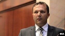 Оливер Спасовски, министер за внатрешни работи на Македонија.