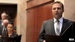 Оливер Спасовски, министер за внатрешни работи