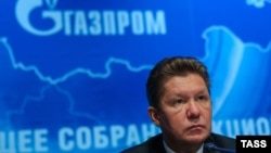 Gazprom Chief Executive Officer Aleksei Miller said the existing pipeline was loaded over 100 percent at the end of last year as a result of the European Commission's decision to allow Gazprom to use 90 percent of the Opal pipeline, which ships Nord Stream's gas to end-users.