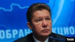 "Алексей Миллер, ""Газпром"" компаниясының басшысы."