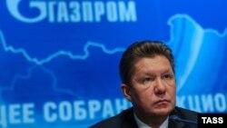 Керівник компанії «Газпром» Олексій Міллер