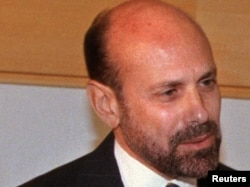 U.S. -- Former US hostage in Iran Barry Rosen, nearly twenty years after his abduction in 1979, on July 31, 1998.