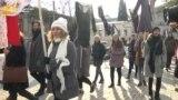 Georgians Protest Domestic Violence