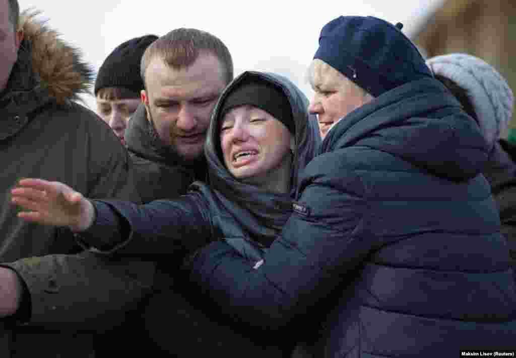 Среди жертв, как говорят родственники погибших, был 41 ребенок.