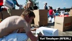 Москва: сбор гуманитарной помощи для жителей Крымска