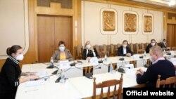 Засідання Комітету з питань охорони здоров'я російського парламенту Криму, 9 листопада 2020 року