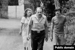 Тонино Гуэрра, Андрей Тарковский и Лора Гуэрра