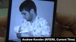 Рустам Назаров із сином