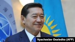 Серик Ахметов в бытность премьер-министром Казахстана.
