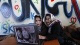 تصویر د کابل یوې ښځینه انټرنیټ کېفې