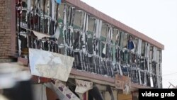محل حمله موتر بمب در غرب شهر کابل