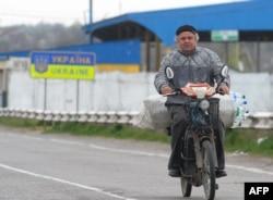 La punctul de trecere Pervomaisk-Cuciurgan