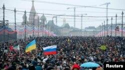 Duminică la marșul de la Moscova