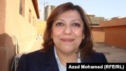 سوزان شهاب عضوة برلمان اقليم كردستان