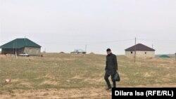 Дома в кооперативе «Жер-Ана 1». Шымкент, 10 марта 2021 года.