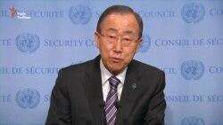 Я рішуче засуджую випробовування водневої бомби – Пан Ґі Мун