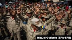 Венесуэльские солдаты.