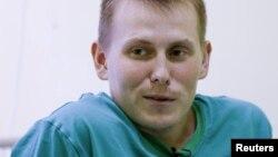 Александр Александров в больнице Киева
