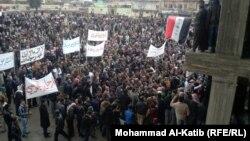 من تظاهرات الموصل