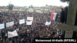 تظاهرات مناوئة للمالكي في الموصل
