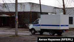 Машина российской полиции. Иллюстративное фото.