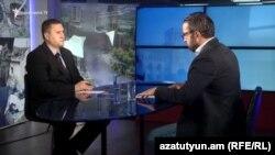 Заместитель министра обороны Армении Габриэл Балаян, в студии Азатутюн ТВ, 19 июня 2019 г.